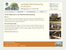 Tablet Preview of biergarten-nederling.de